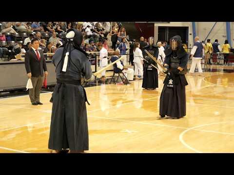 Kendo 2017 Nikkei Games 4 Dan Division: Round Robin 2