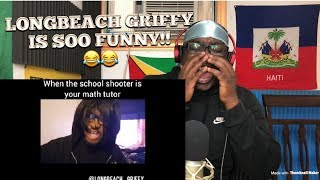 YOU WILL FAIL!!!!!!!Try Not to Laugh(Longbeach_Griffy): REACTION VIDEO!!
