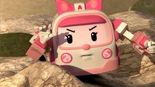 Робокара Поли - 8 Марта! Сборник про девочек: Эмбер, Джин, Клини - Мультики