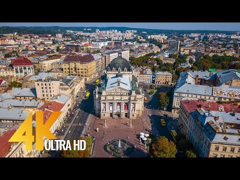 Lviv - the City of Legends - 4K Cityscapes | Urban Life Documentary Film - 40 min