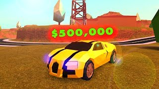 BUYING THE NUOVO CAR da 500.000 dollari (Roblox Jailbreak)