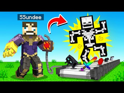 CRAFTING a LOST INFINITY TRAP in Minecraft (Insane Craft)