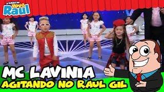 Programa Raul Gil - Lavinia (Mc Lavinia)