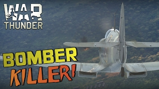 BOMBER KILLER! - War Thunder RB Gameplay