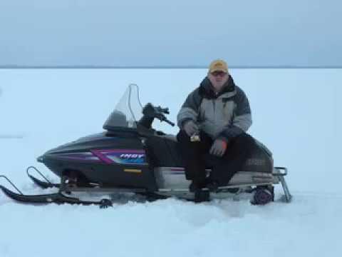 Icefishing Tobin Lake Sask.
