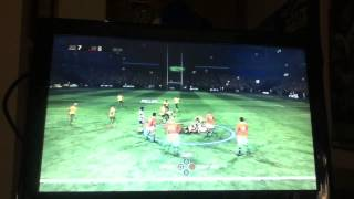 Wallabies rugby challenge 2 game10 final lions tour