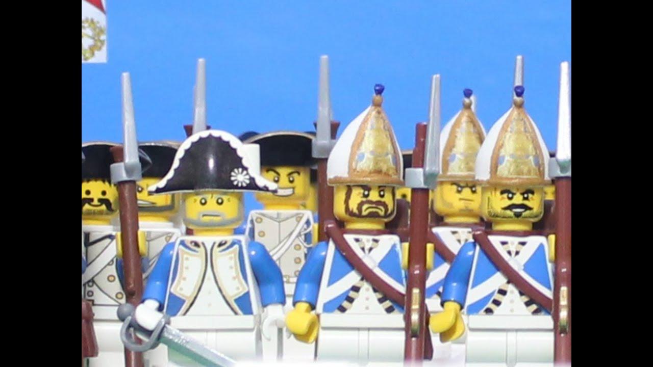 1741 lego battle of mollwitz war of austrian succession for Siege lego france
