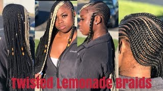 Twisted Lemonade Braids | Xtrend Hair