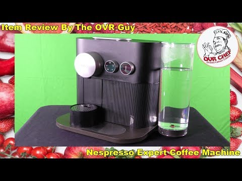 Nespresso Expert Coffee Machine Review