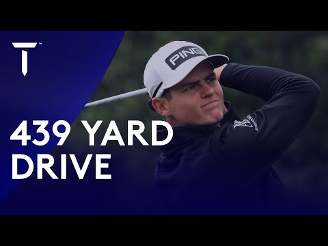 Wilco Nienaber's 439 Yard Drive