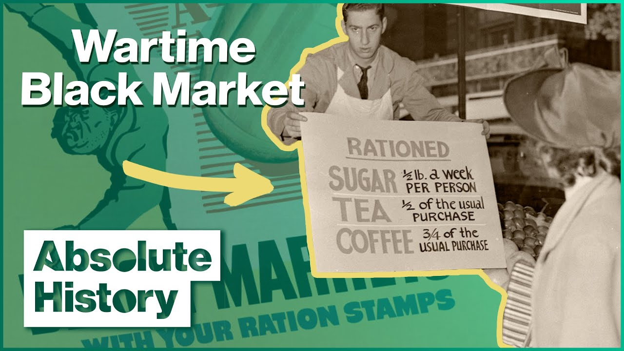 How World War 2 Created The Black Market | Turn Back Time: The High Street | Absolute History