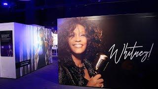 Sneak peek at Whitney Houston exhibit in Newark