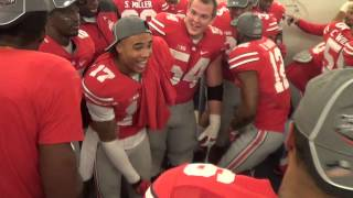 Repeat youtube video Ohio State's Locker Room After Big Ten Title - ELEVENWARRIORS.COM