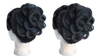 juda hairstyle for special occasion || wedding hairstyles || wedding guest hairstyles || hairstyle