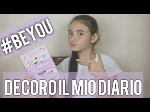 DECORO IL MIO DIARIO BE YOU  by Marghe Giulia Kawaii