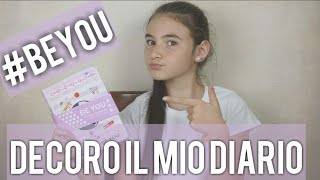 DECORO IL MIO DIARIO BE YOU  by Marghe Giulia Kawaii