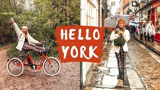 York England Vlog - Things to do in York with Jorvik Tricyles
