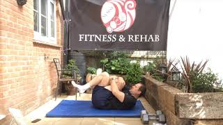 Daily stretch   hip 2