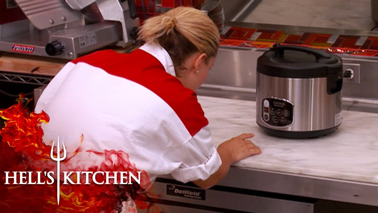 Susan Struggles With A Rice Cooker | Hell's Kitchen