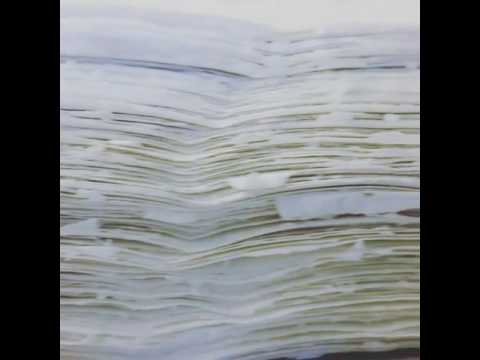 Deckled edges of handmade paper