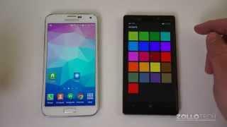 Windows Phone 8.1 vs Android 4.4.2 Kit Kat