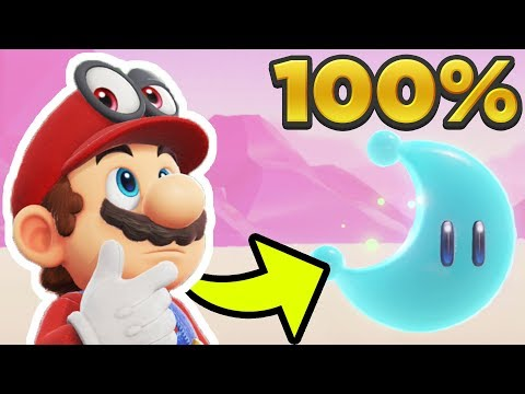 Super Mario Odyssey - Luncheon Kingdom ALL 68 POWER MOON LOCATIONS! [100% Guide]