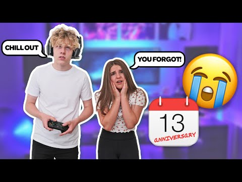 Forgetting Our Anniversary PRANK on My Girlfriend To See How She REACTS **SHE CRIED** 😭| Lev Cameron indir