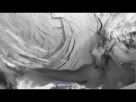 Extensive Ice Fractures in the Beaufort Sea (HDTV)