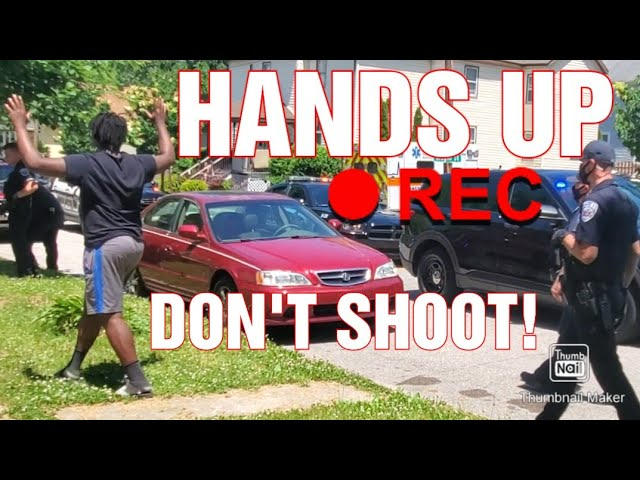HANDS UP DONT SHOOT! 1ST AMENDMENT AUDIT FAIL!