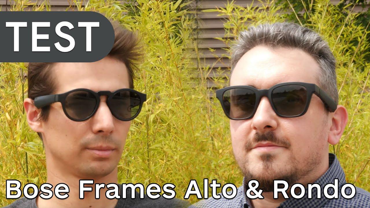 Test des lunettes de soleil audio Bose Frames