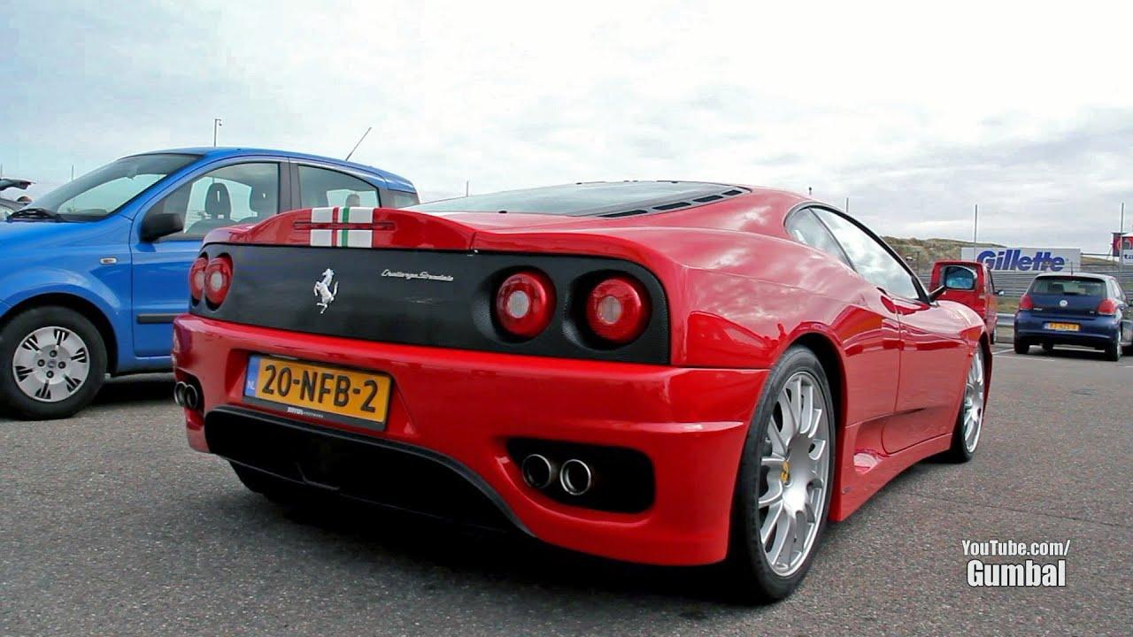 Ferrari Challenge Stradale w/ Capristo exhaust - Valves open/closed