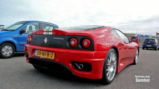Ferrari Challenge Stradale w/ Capristo exhaust - Valves open/closed !! 1080p HD