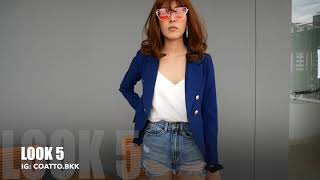 Jacket Style by Coatto แต่งตัวสไตส์เรียบหรู แจ็คเก็ต เสื้อสูทแฟชั่น # COATTO.Bkk