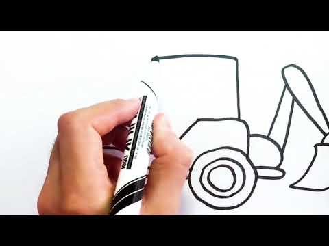 Kepçe Resmi Nasıl çizilir