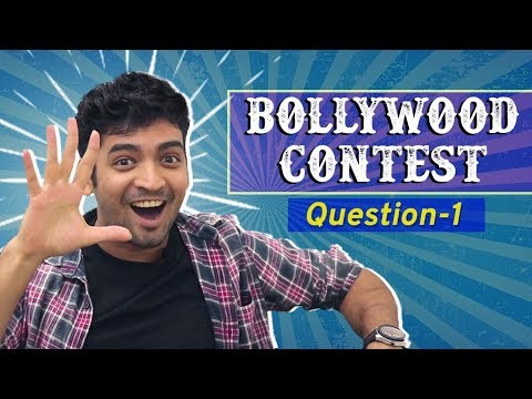 Lucky Winner 5000/- Rs | Bollywood Contest | Question 1