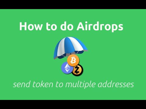 How to Do Airdrops(multisend) in Python