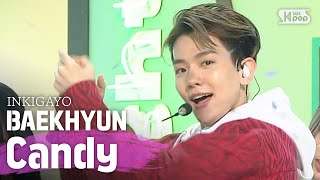 Download Mp3 Baekhyun 백현  - Candy @인기가요 Inkigayo 20200607