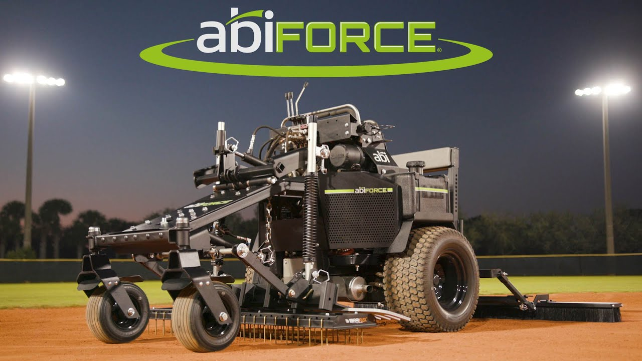 ABI Force z23s - Zero-turn Infield Groomer & Grader (Maintain & Renovate  Baseball & Softball Fields)