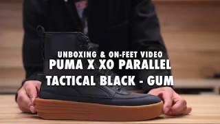 Puma X XO Parallel Tactical Black - Gum