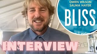 Owen Wilson Talks Upcoming Film Bliss, Rollerskating, & Elon Musk!