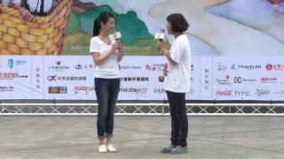 2014「午安.飛翔」公益勸募代言人記者會 - 公益活動代言人林依晨出場