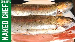 Trout With Bacon Pan Fried Fish Crispy Recipe How To Make Cook Cooking Food Recipes Shop Chips