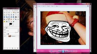 GIMP - How To Troll Tutorial Thumbnail