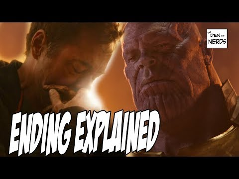 Infinity War Ending Explained | Captain Marvel in Avengers 4