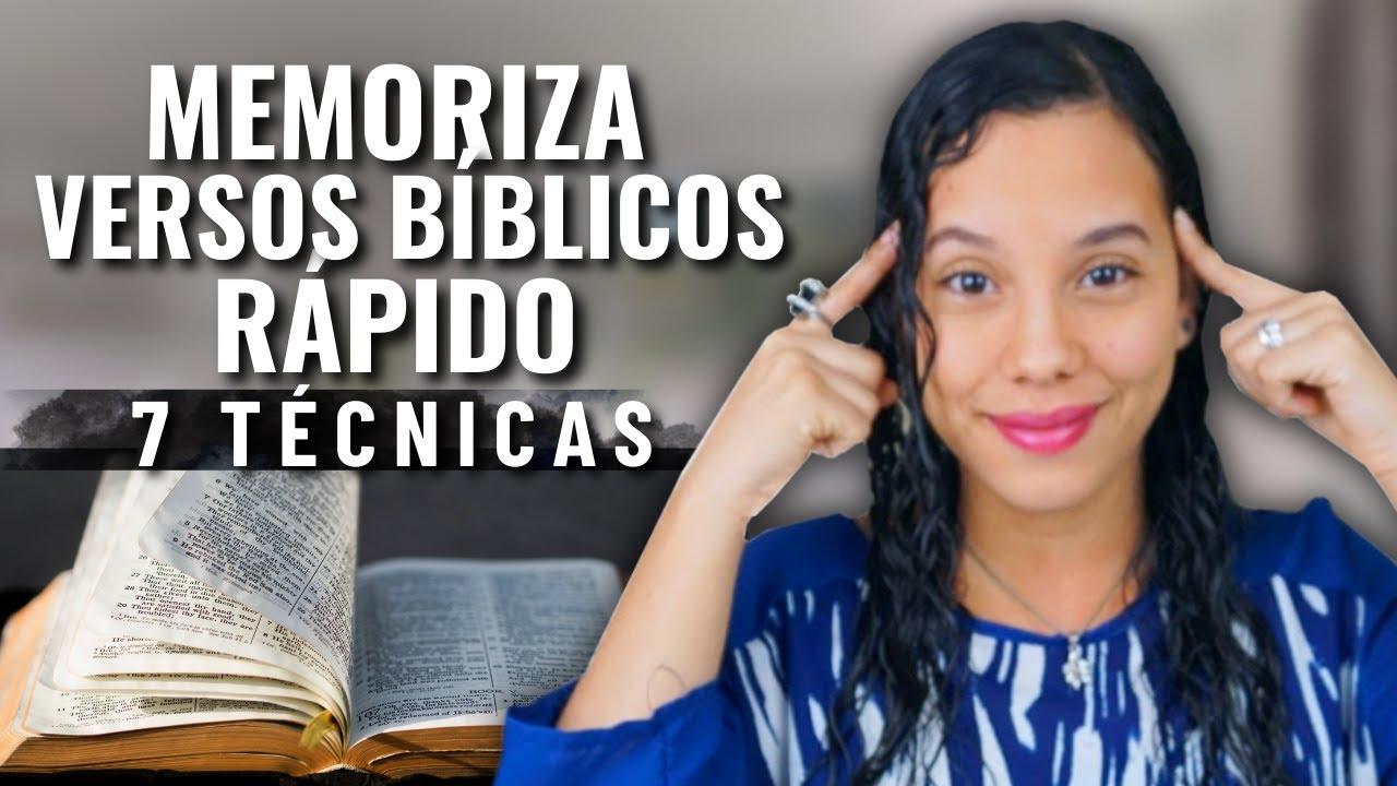 Download Cómo Memorizar Versículos Bíblicos Rápidamente - 7 Técnicas   JustSarah