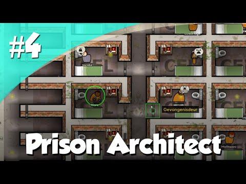 Prison Architect #4 - Extra Cells maken!