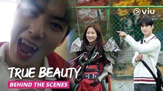Download lagu Vampire Cha Eun Woo vs Warrior Moon Ga Young | Making of True Beauty Ep 3 & 4 (ENG SUBS)
