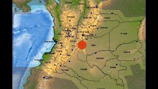 Sismo de 6,2 sacudió a Colombia