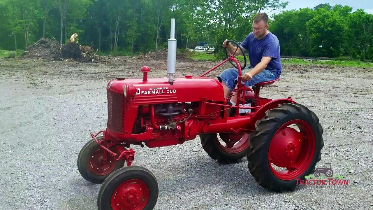 1952 Farmall Cub Tractor For Sale