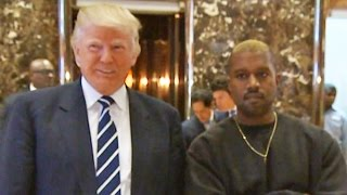 Kanye West Visits Donald Trump: 'We've Been Friends For A Long Time'